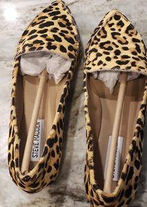 Steve Madden leopard flats NWOT